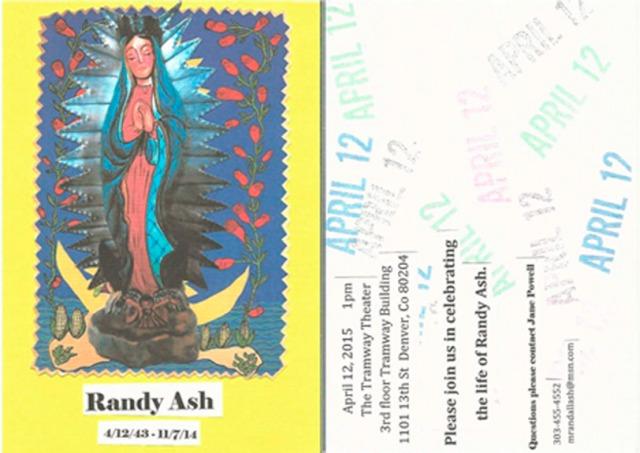 Randy Memorial Notice