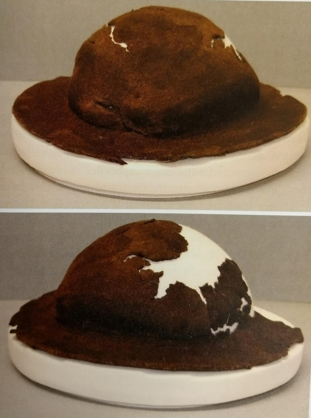 3. felt hat after treatment